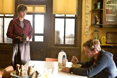 Ep. 5 Ocean View (Bates Motel) Pic 1/12  Norman (Freddie Highmore) returns home in high spirits from a night spent at Bradleys, but immediately gets some bad news from his brother. Dylan (Max Thieriot) informs him that Norma has been arrested for the murder of Keith Summers. AETV.com