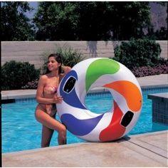 Intex Schwimmreifen Color mit Griff 58202EP  Kurzübersicht Für dieses Produkt gibt es folgende Sicherheitskriterien Achtung: Nicht für Kinder unter 36 Monaten geeignet Achtung: Nur im flachen Wasser unter Aufsicht von Erwachsenen verwenden