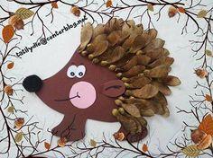 Fall Leaf Hedgehog (21/5)