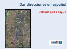 Direcciones en español
