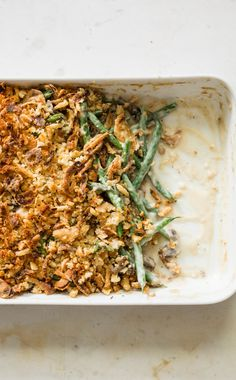 Make-Ahead Green Bean Casserole. Steer clear of the canned casserole and opt for fresh, homemade flavor with our Green Bean Casserole recipe that can be made ahead of time, before the big day!