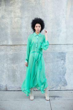 Creatures of Comfort - Kelly Green Kelen Dress   BONA DRAG