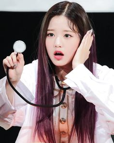 Wonyoung is doctor 😍😍😍 Beautiful Young Lady, 3 In One, Guys And Girls, Dancer, Dreadlocks, Kpop, Hair Styles, Instagram Posts, Beauty