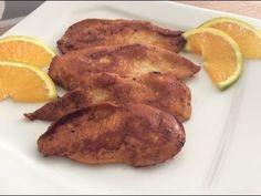 #QuartaFit - Filé de frango marinado com laranja - Cozinha da Robs