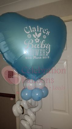 Personalisd Baby Shower balloons by www.rothwellballoons.co.uk Helium Balloons, Baby Shower Balloons, Christening Balloons, Balloon Pictures, Celebration Balloons, Personalized Balloons, Balloon Bouquet, Decorate Your Room, The Balloon