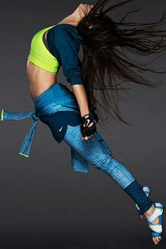 Jumping Sportswear Lookbooks - The Nike Women's FW13 Catalog Stars a Slew of Female Athletes (GALLERY)