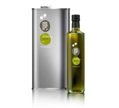 100% / Greek extra virgin and organic olive oils / Mousegraphics