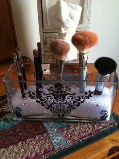 Stylish MakeUp Brush Holder by PersonalizeYourStyle on Etsy, $19.99