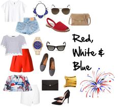 With so many patriotic events coming up this week, I curated the red, white and blues for every style. Check it out now at www.FashionMeKnot.blogspot.com