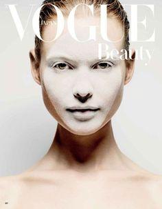 Behati Prinsloo for Vogue Japan Beauty - October 2013