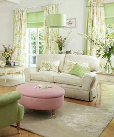 Marvelous 10 Best Spring Living Room Color Schemes Ideas Trend 2020 If you start looking out the window, you will see a beautiful spring atmosphere with plants in full bloom in our yard. Although not all countries have. Spring Living Room, Room, Living Room Green, Home Living Room, Green Rooms, Laura Ashley Living Room, Home Decor, Home And Living, Living Room Designs