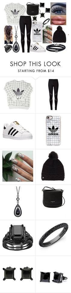 """OOTD-Wednesday, January 18"" by kenziebandgeek ❤ liked on Polyvore featuring adidas, Casetify, UGG, 1928, Lancaster, Anne Sisteron, Simon Frank and Phillip Gavriel"