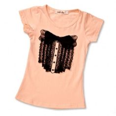 High fashion! Up to 60% off Girl's Dressy T-Shirts! #kidsfashion #tshirts #sale #bts #kids #style #cutekids  www.heyduckee.com