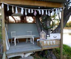Blue Bayou Cubby-decorated for Brooke & Alex's Wedding Photos. For Bookngs Phone 0419 552302 www.capeoflove.com