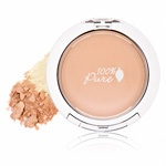 100 Percent Pure Healthy Flawless Skin Foundation Powder SPF 20 - Creme at blush