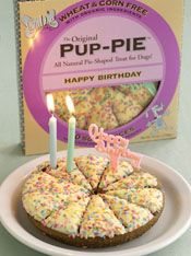 Pup Pie 2 Birthday Cake Happy Dog Cookies Doggie Treats