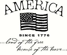America Since 1776 Vinyl Decal | Car Decal | Patriotic Decals | The Wall Works