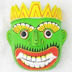 Sri Lankan Demon Mask-42