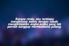 Quotes Rindu, Desktop Screenshot