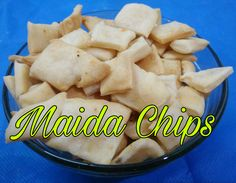 Maida chips, which I tried in Airfrier, came out really well.        Ingredients:  All purpose flour - 100 grms  Ajwain - 1/2 teaspoon  Re...