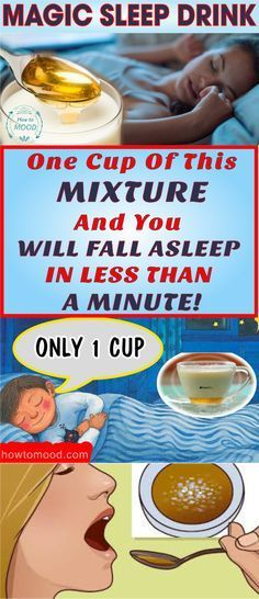 A MAGIC SLEEP REMEDY: ONE CUP OF THIS MIXTURE AND YOU WILL FALL ASLEEP IN LESS THAN A MINUTE! #sleep #sleeping #magic #drinks #homeremedies