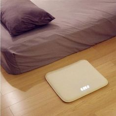 Stand-On Pressure Sensitive Battery Smart Alarm Clock Mat Floor Rug LED Time for sale online Floor Rugs, Floor Chair, Armoire Design, Best Alarm, Nixie Tube, Types Of Rooms, Digital Alarm Clock, Alarm Clocks, Getting Out Of Bed