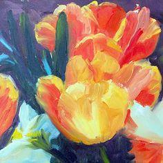 Kit Hevron Mahoney Fine Art: KM2135 Ahh Spring