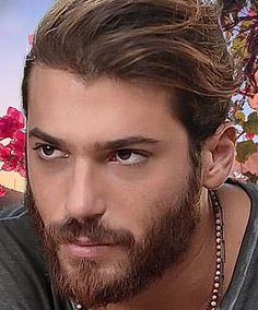 Turkish Men, Turkish Actors, Beautiful Boys, Gorgeous Men, Mens Silver Jewelry, Hair And Beard Styles, Good Looking Men, Bearded Men, Pretty People