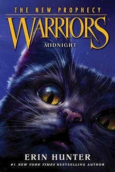 New cover for Warriors the new prophecy: Midnight. Book one