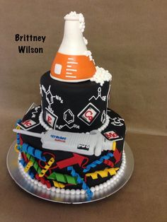 Chemistry Cake                                                                                                                                                                                 More