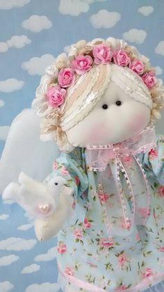 Anja Floral e sua pombinha da paz ... By Ana Patrícia Endres