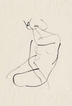 Aurore de La Morinerie minimalist line art figure drawing Gesture Drawing, Life Drawing, Drawing Sketches, Painting & Drawing, Art Drawings, Anatomy Drawing, Rodin Drawing, Drawing Models, Figure Drawings