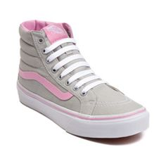 534741a7e5 Hi Slim Pink Gray Vans