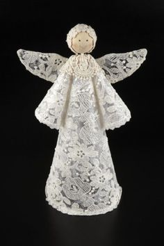 Guardian Angel Number 333 And 444 Guardian Angel Number 333 And 444 Find Out What Your Guardian Angel Number Is And The Message He Wishes To Give You Free Guardian Angel Number Reading Large Lace Angel Rosefields Co Uk We don't like the overly fancy Christmas Angel Ornaments, Christmas Art, Christmas Projects, Handmade Christmas, Christmas Holidays, Christmas Decorations, Birthday Decorations, Diy Angels, Handmade Angels