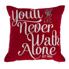 LFC Red Chenile Cushion