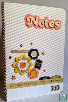 Bangaboo Scrapbook: Entrada de Lunes: Bloc de notas A5