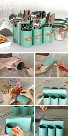 18 genius recycled diy ideas to turn waste into treasure. - UPCYCLING Genius recycled DIY ideas to turn waste into treasure., Abfall genius ideen recycelte schatze Coconut Upcycle Decor DIYs Upcycling made easy: DIY Upcycled Crafts, Upcycled Home Decor, Diy Home Decor, Upcycle Home, Recycled Art, Upcycled Furniture, Antique Furniture, Furniture Ideas, Diy Arts And Crafts