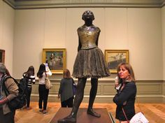 Edgar Degas, French, 1834-1917, The little Fourteen-Year-old Dancer, 1880