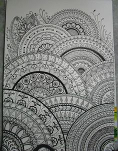 Tutte le dimensioni |my drawings inspired zentangle® | Flickr – Condivisione di foto!