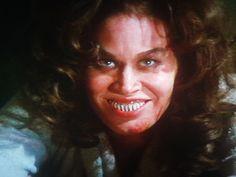 "Karen Black gets a bit ""possessed"" in ""Prey"" the final episode in ""TRILOGY OF TERROR."""