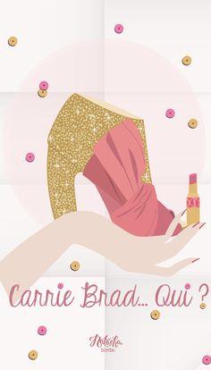 Carrie SATC pink iphone wallpaper