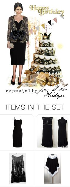 """Happy Birthday Nadya !! ❤🎂"" by riagr ❤ liked on Polyvore featuring art"