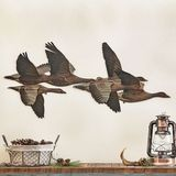 New Cabin Decor at Black Forest Decor Metal Walls, Metal Wall Art, Black Forest Decor, Flying Geese, Cabin, Animals, Outdoor, Outdoors, Animales