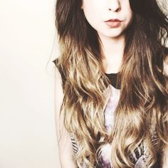 Zoella. I want her hair!