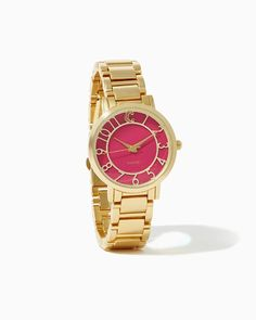 Band of Boyfriends Watch | UPC: 400000473413 COTM Fuchsia, Pink, Rose, Hot Pink, Roseberry, Valentines