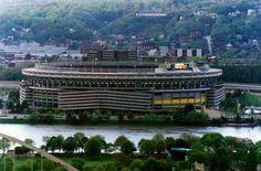 Old Three Rivers Stadium, Pittsburgh, Pennsylvania