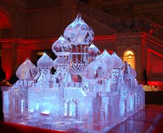Russian Palace ice carving
