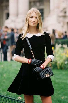 Harper's Bazaar Russia's Maria Kolosova, before Chanel, Paris, October 2013 photographed by Vanessa Jackman during PFW S/S 2014