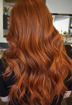 Find The Copper Hair Shade That Will Work For Your Image Red Hair copper red hair color Copper Hair With Highlights, Red Copper Hair Color, Ginger Hair Color, Brown Hair Colors, Color Red, Golden Color, Subtle Highlights, Light Copper Hair, Ginger Ombre