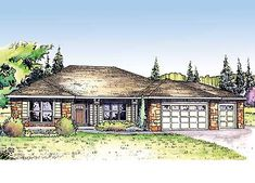Vaulted Ceilings - 72632DA | 1st Floor Master Suite, Butler Walk-in Pantry, CAD Available, Den-Office-Library-Study, PDF, Ranch, Southern, Split Bedrooms | Architectural Designs